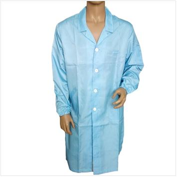 Antistatic long grown,Anti-static Smock,ESD Lab Coat,ESD Garment,Antistatic Clothes